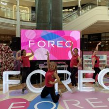 Foreo Luna3 Launch Event buzz dance and fitness